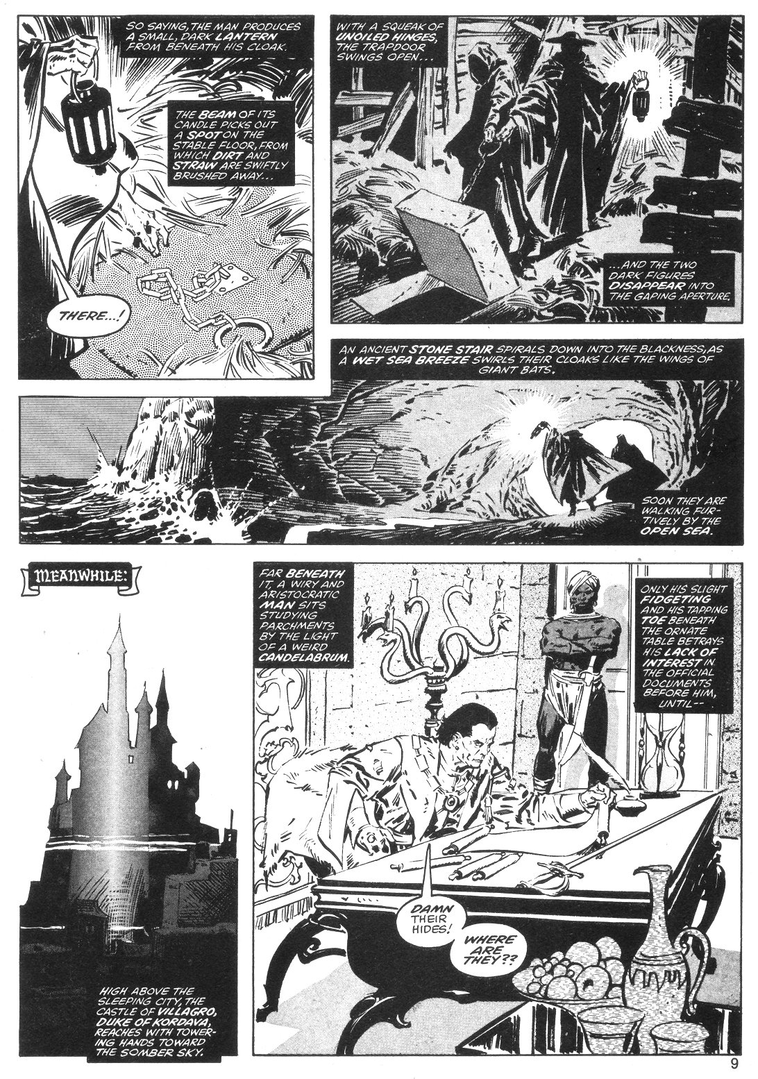 The Savage Sword Of Conan Issue #40 #41 - English 9
