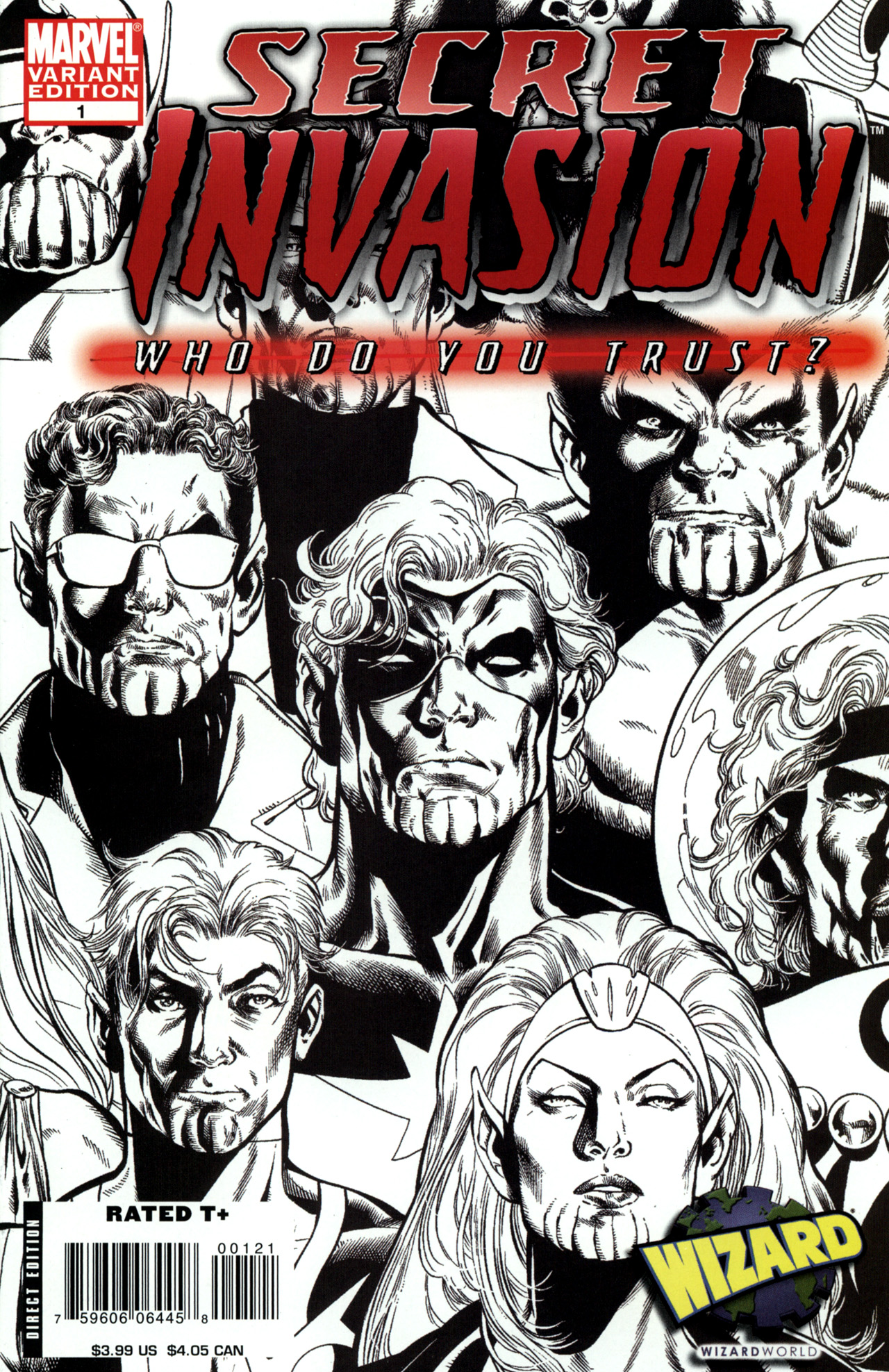 Read online Secret Invasion: Who Do You Trust? comic -  Issue # Full - 2