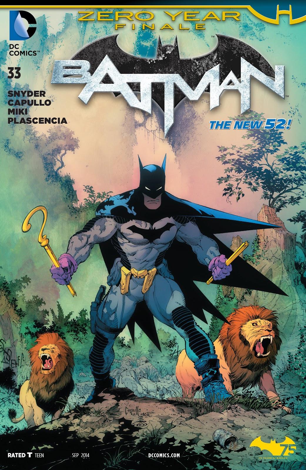 Batman (2011) Issue #33 #52 - English 1