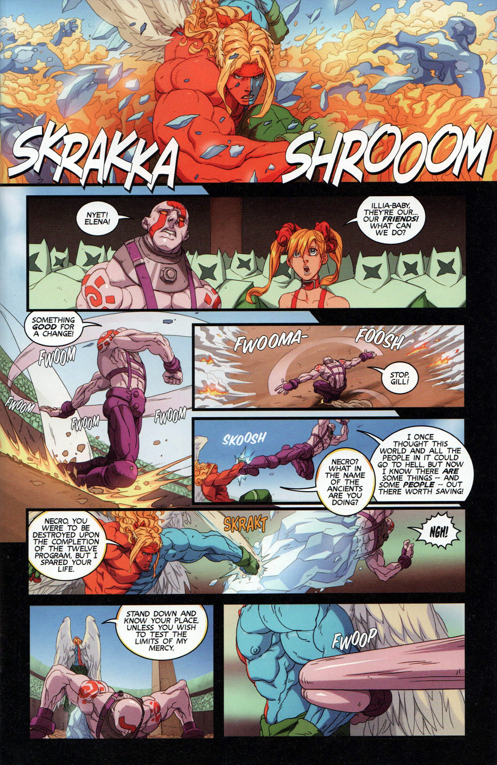 Street Fighter Unlimited Issue #11 #13 - English 11