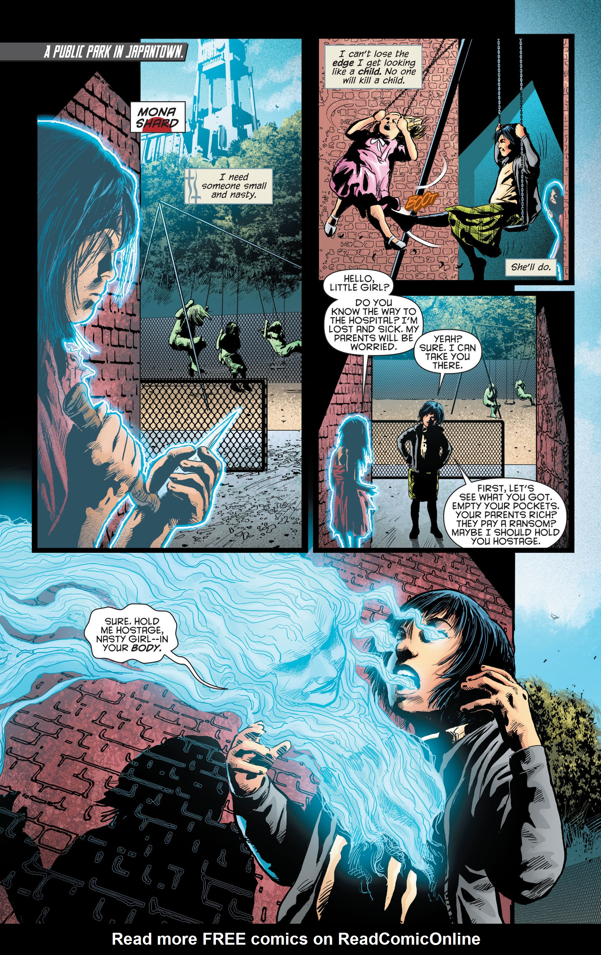 Read online Katana comic -  Issue #8 - 13