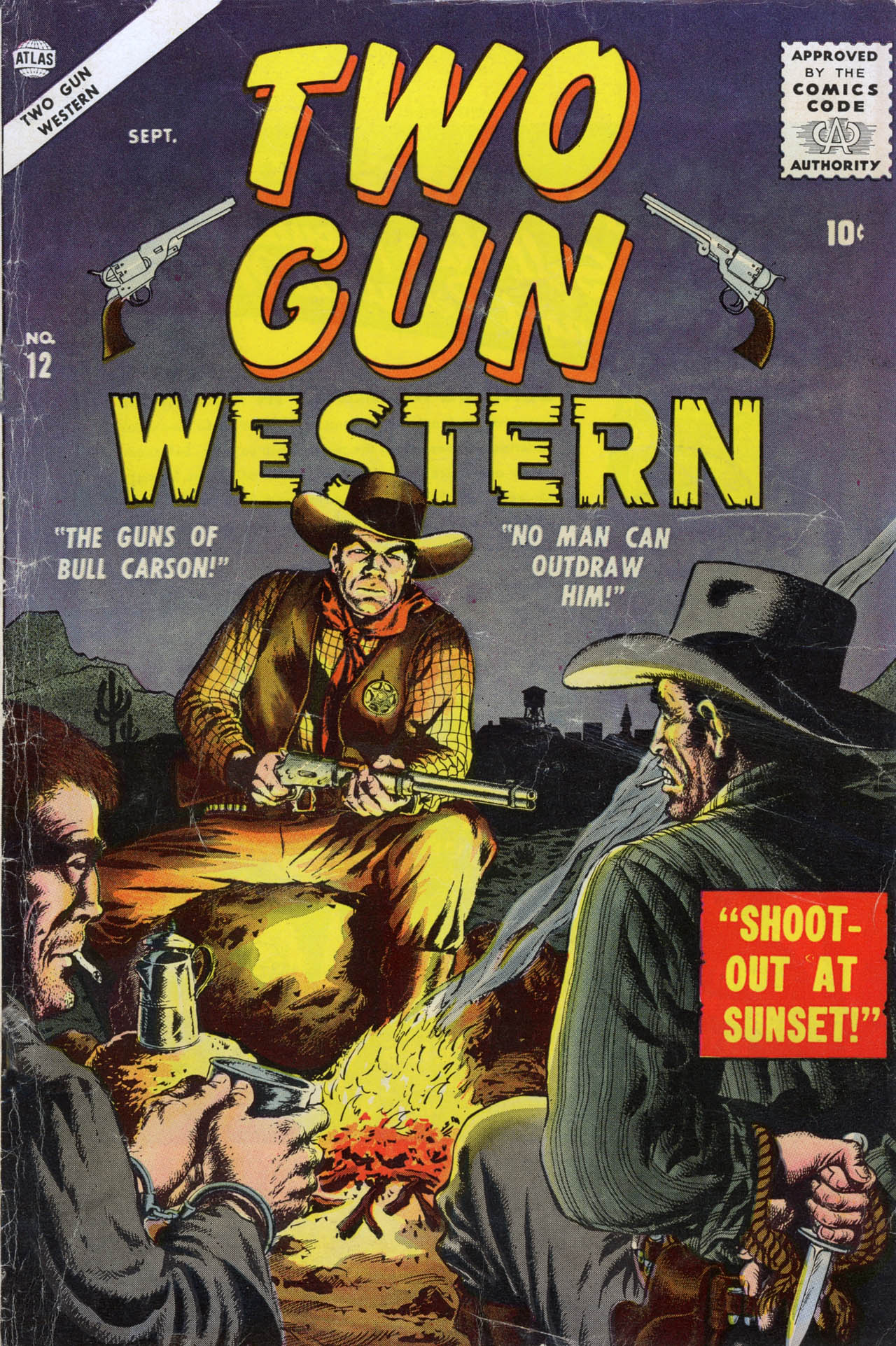 Two Gun Western issue 12 - Page 1