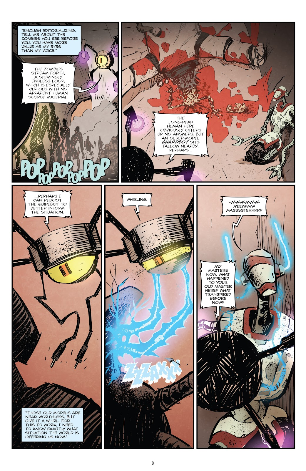 Zombies vs Robots (2015) Issue #1 Page 9