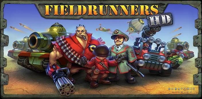 Fieldrunners HD v1.20 apk