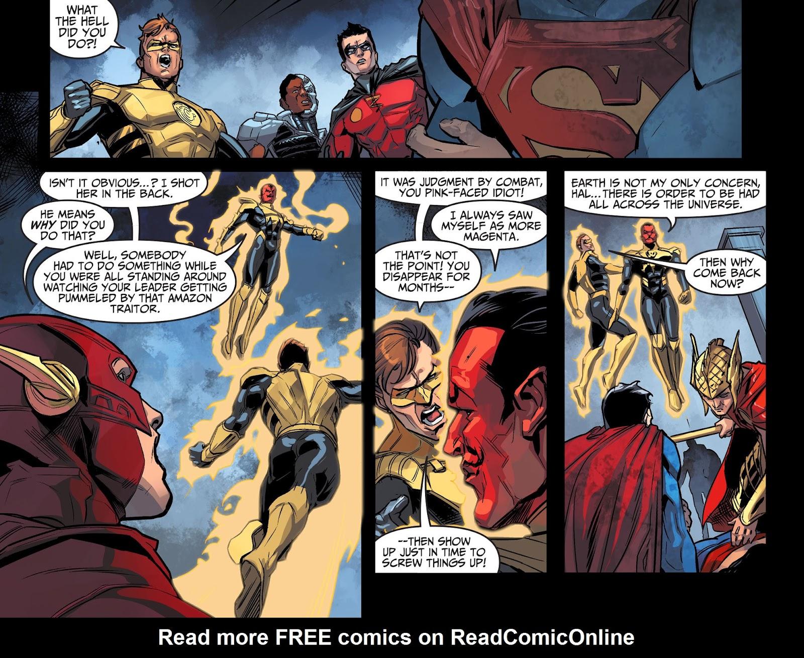 Injustice: Gods Among Us Year Four Issue #10 #11 - English 5