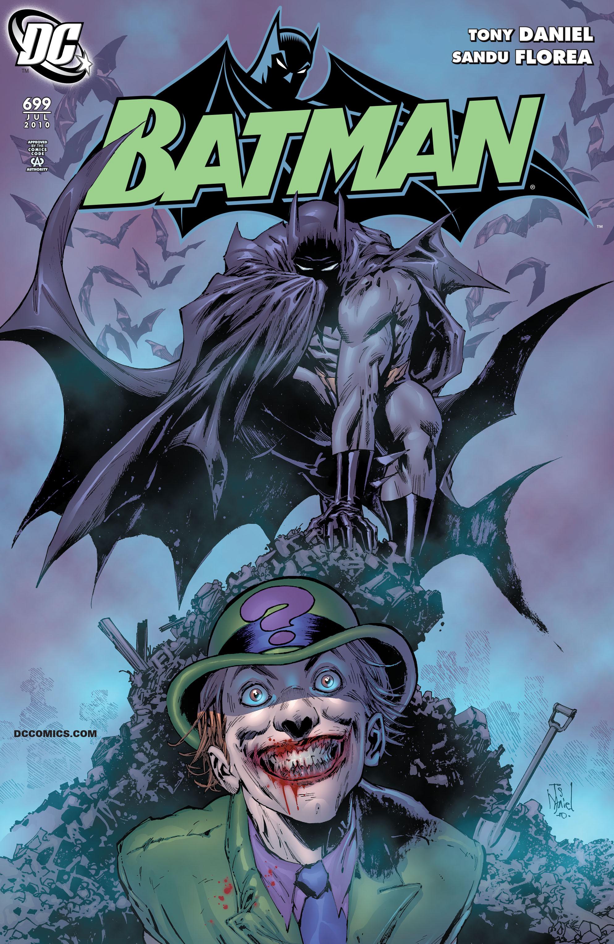 Batman (1940) 699 Page 1