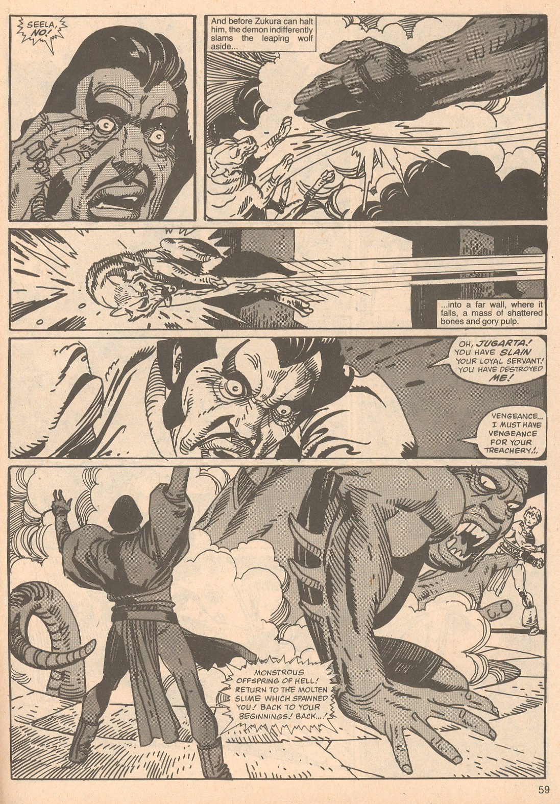 The Savage Sword Of Conan Issue #67 #68 - English 59