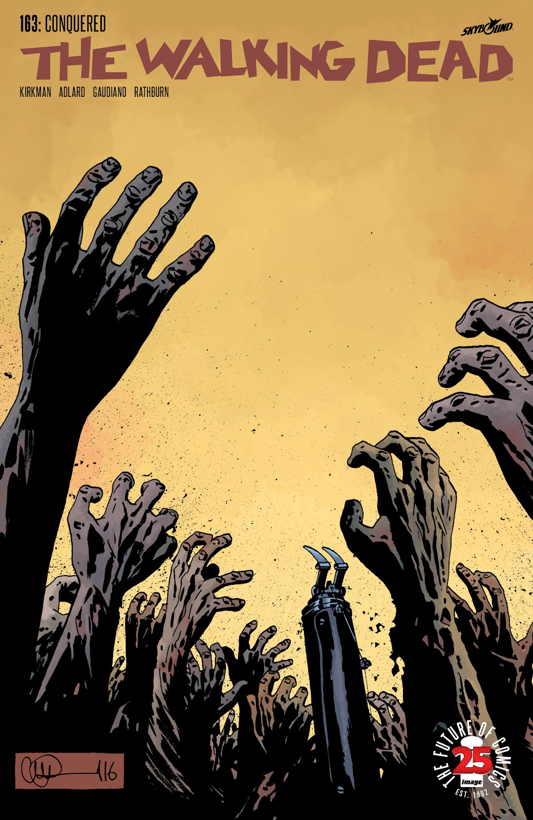 The Walking Dead Issue #163 Page 1