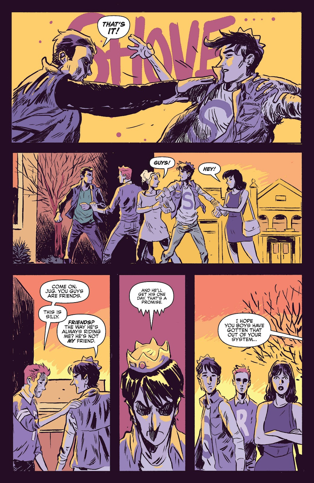Jughead The Hunger Issue #0 #1 - English 11