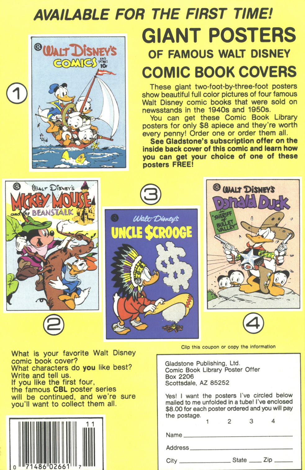 Uncle Scrooge (1953) Issue #211 #211 - English 36
