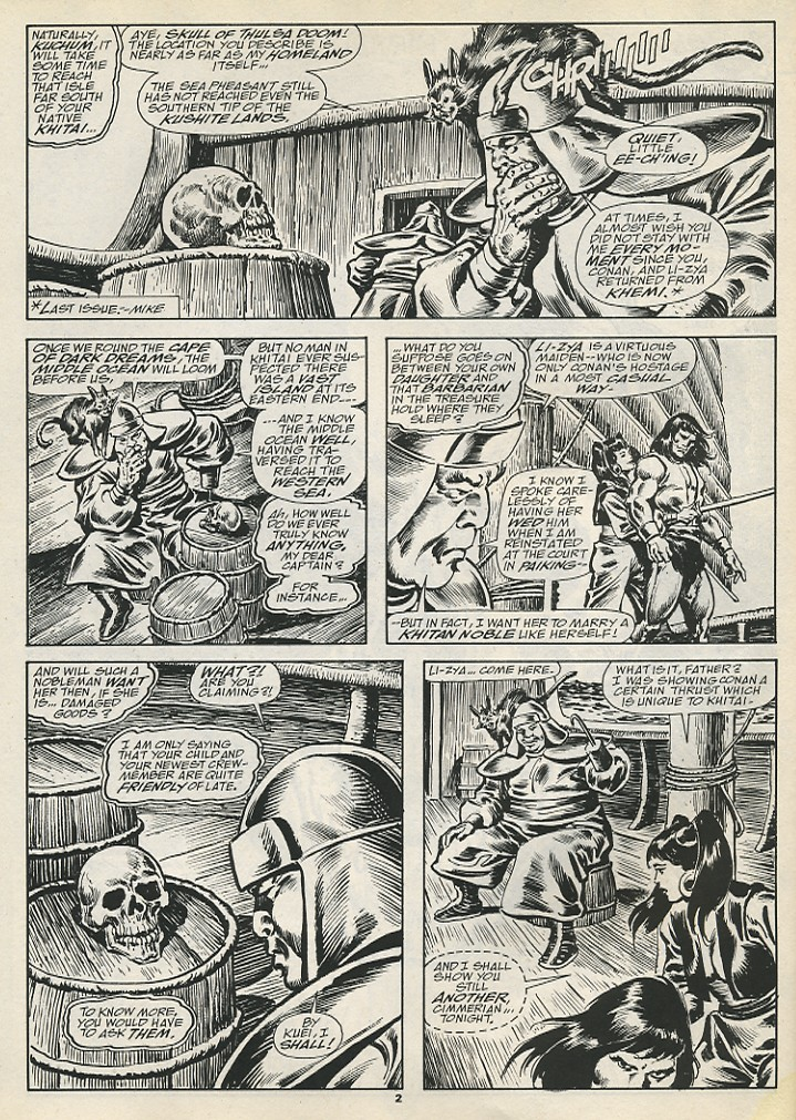 The Savage Sword Of Conan Issue #192 #193 - English 4