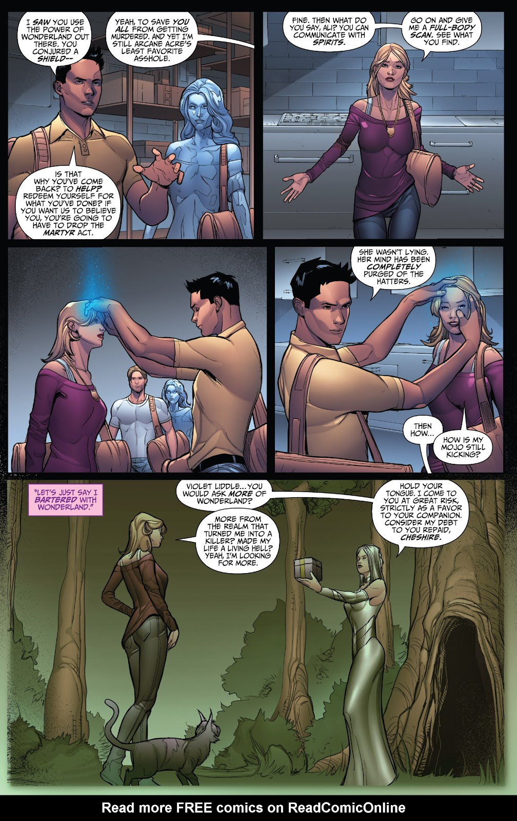 Grimm Fairy Tales (2005) Issue #123 #126 - English 8