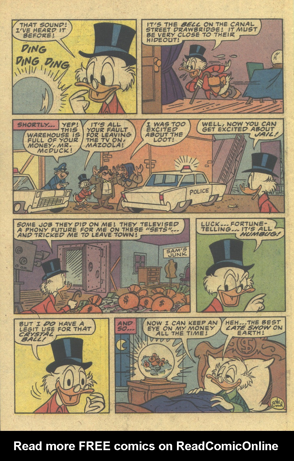 Scrooge (1953) Issue #12 #204 - English 34