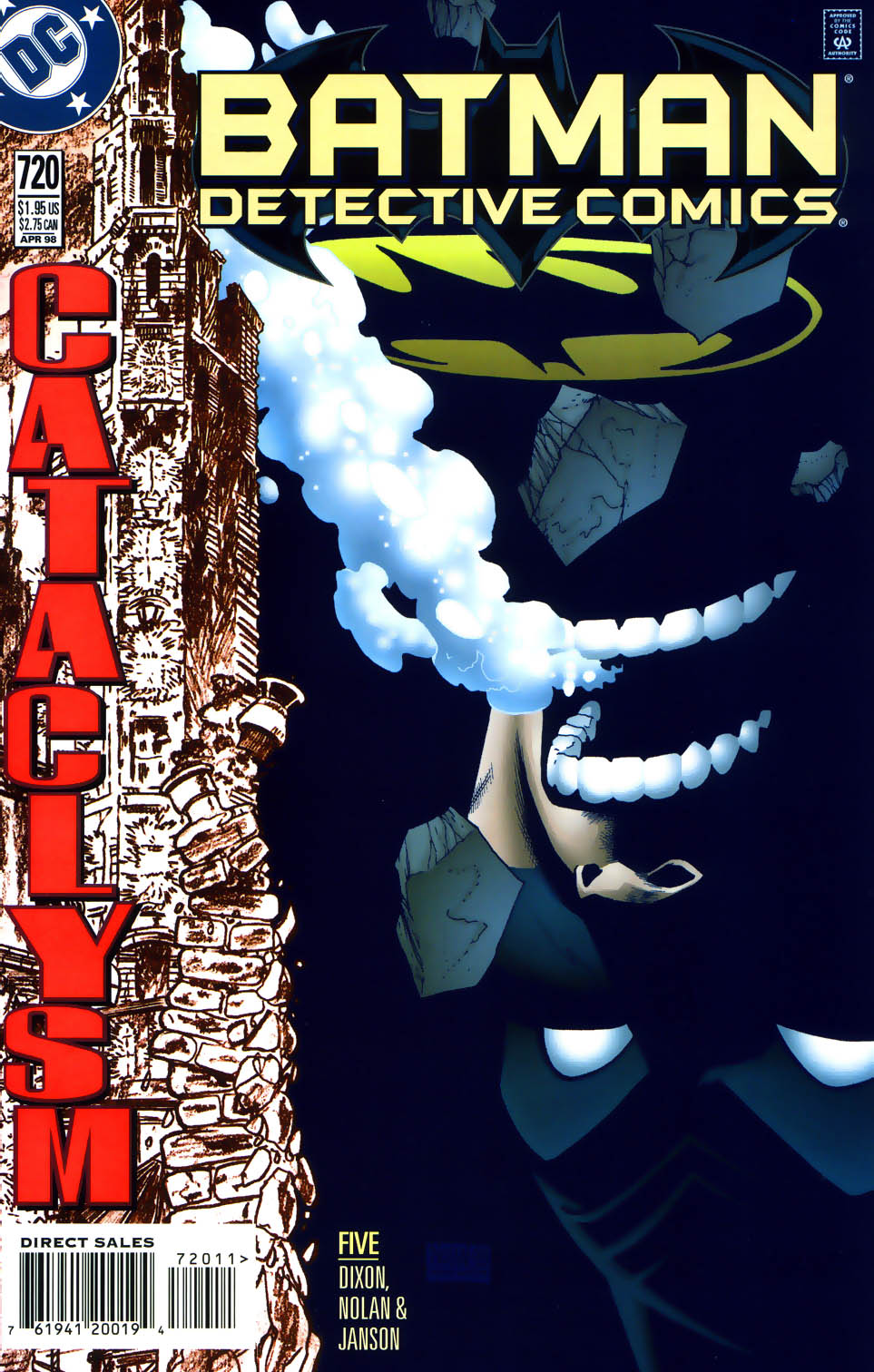 Batman: Cataclysm 6 Page 1