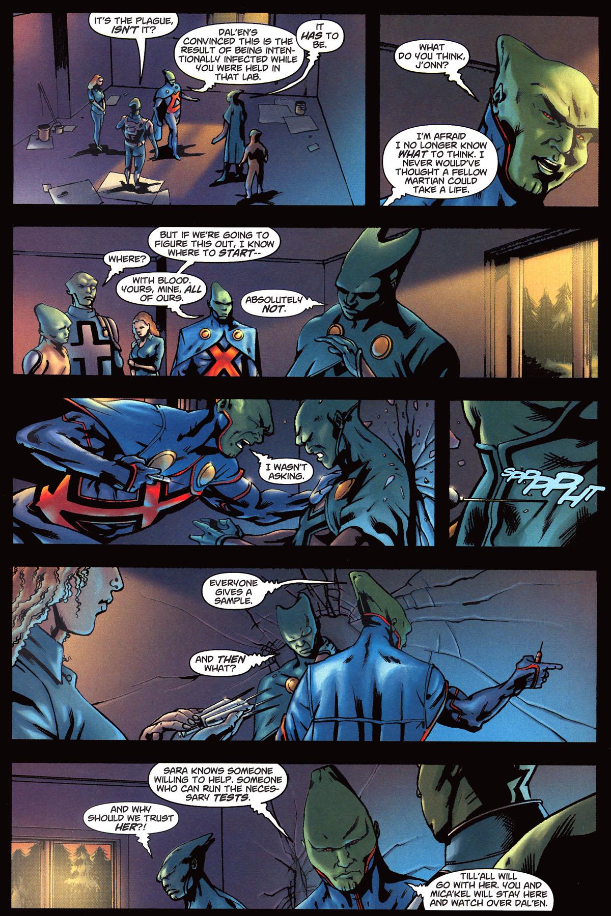 Read online Martian Manhunter (2006) comic -  Issue #6 - 11