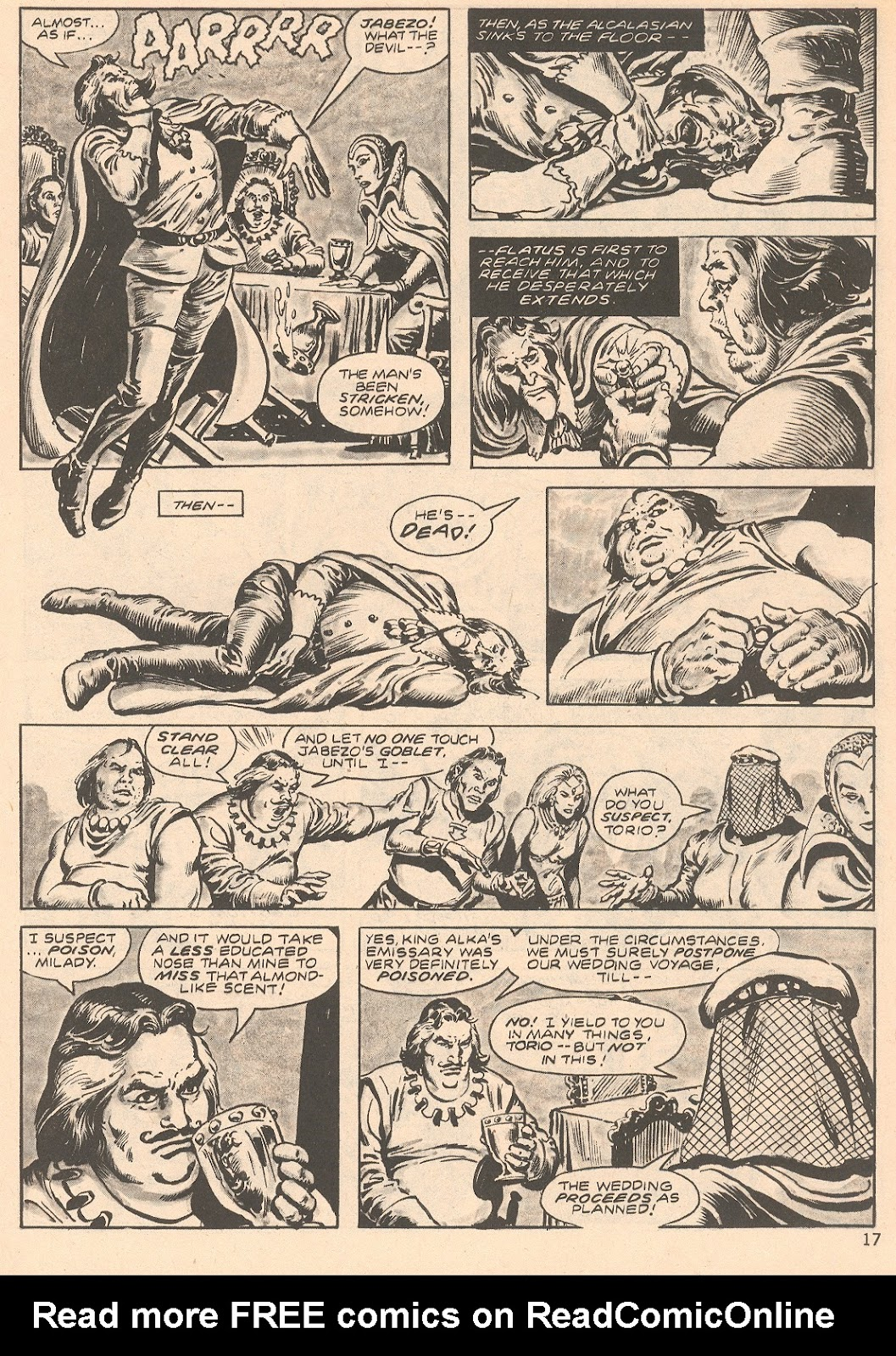 The Savage Sword Of Conan Issue #66 #67 - English 17