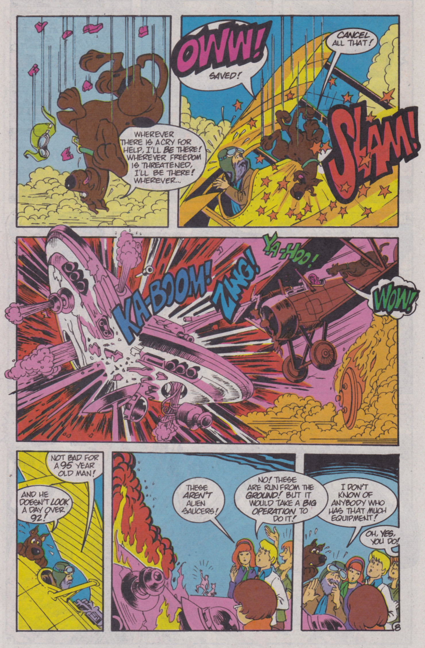 Read online Scooby-Doo (1995) comic -  Issue #4 - 22