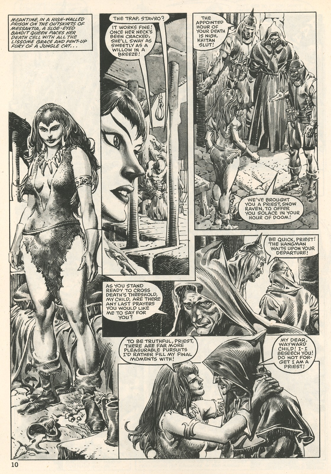 The Savage Sword Of Conan Issue #107 #108 - English 10