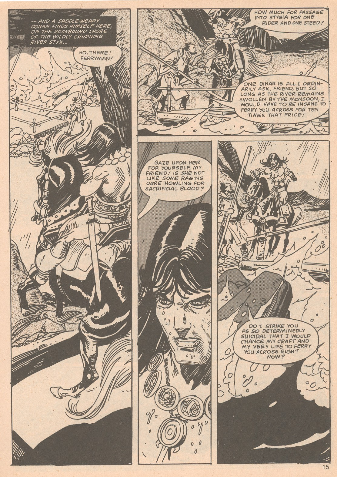 The Savage Sword Of Conan Issue #65 #66 - English 15