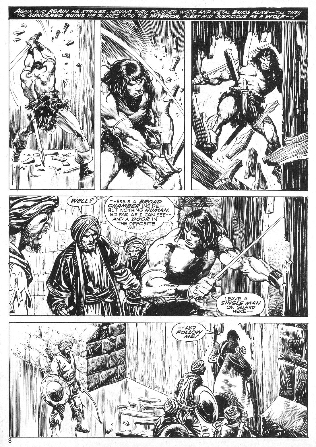 The Savage Sword Of Conan Issue #19 #20 - English 8