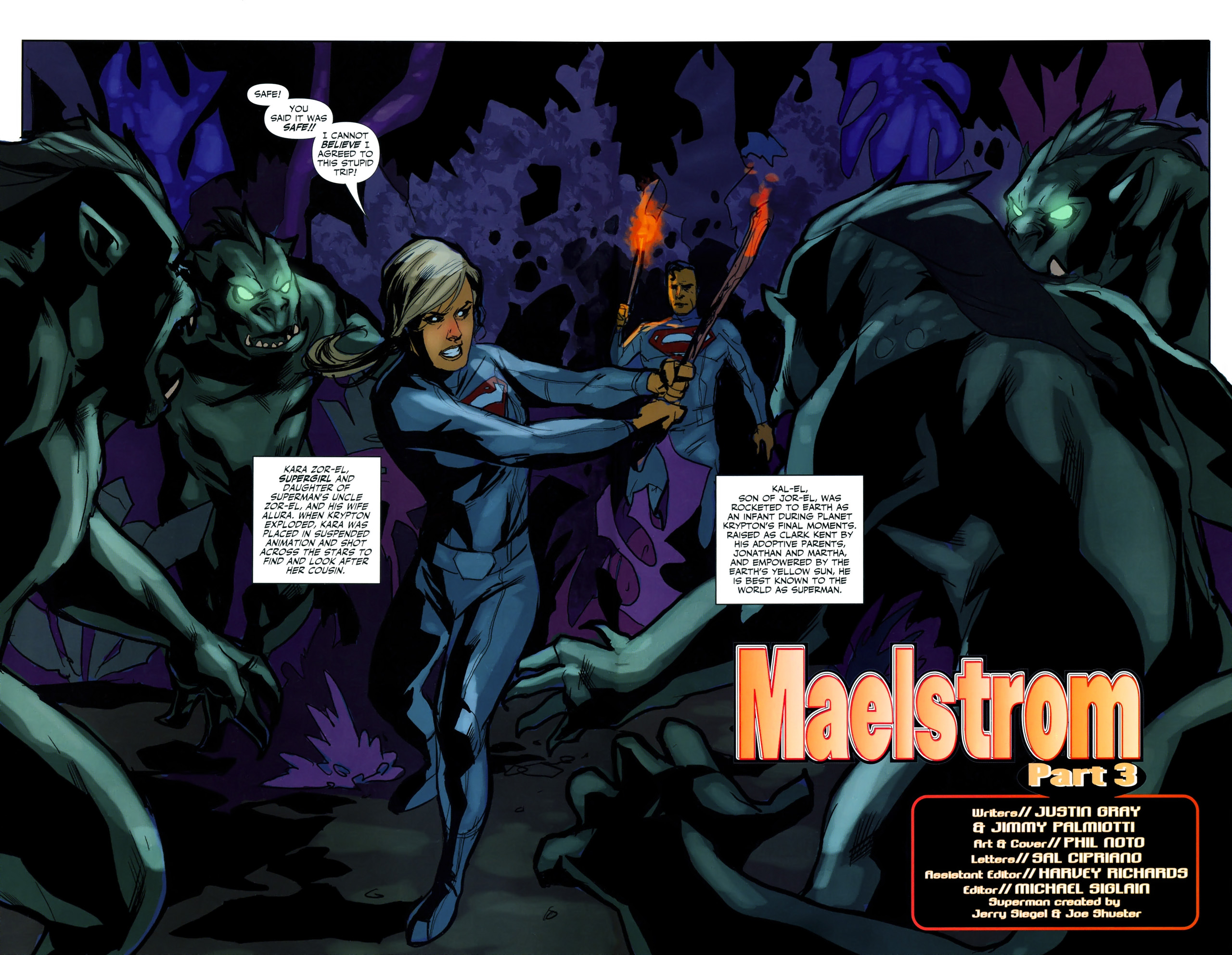 Read online Superman/Supergirl: Maelstrom comic -  Issue #3 - 3