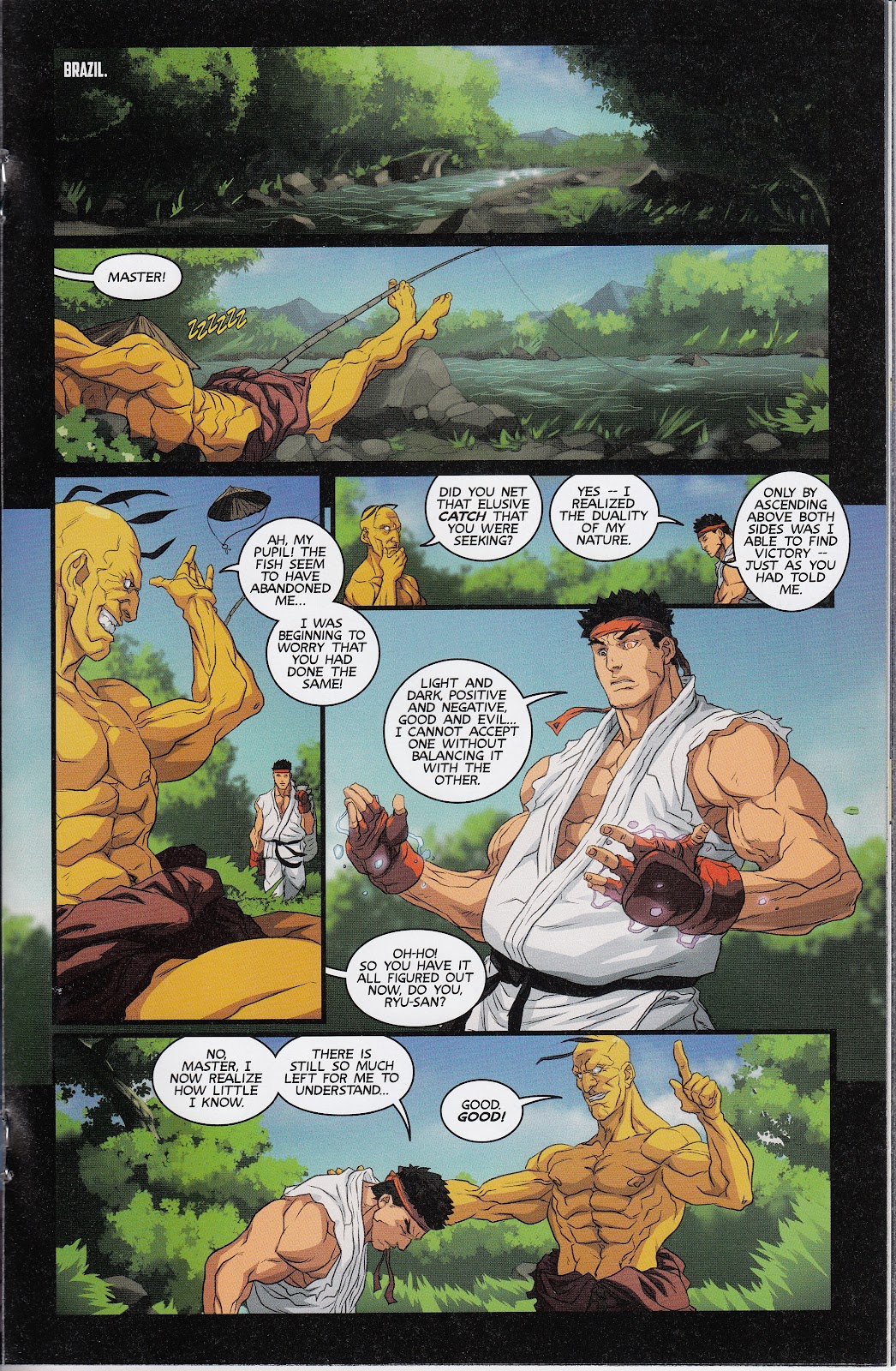 Street Fighter Unlimited Issue #12 #14 - English 16