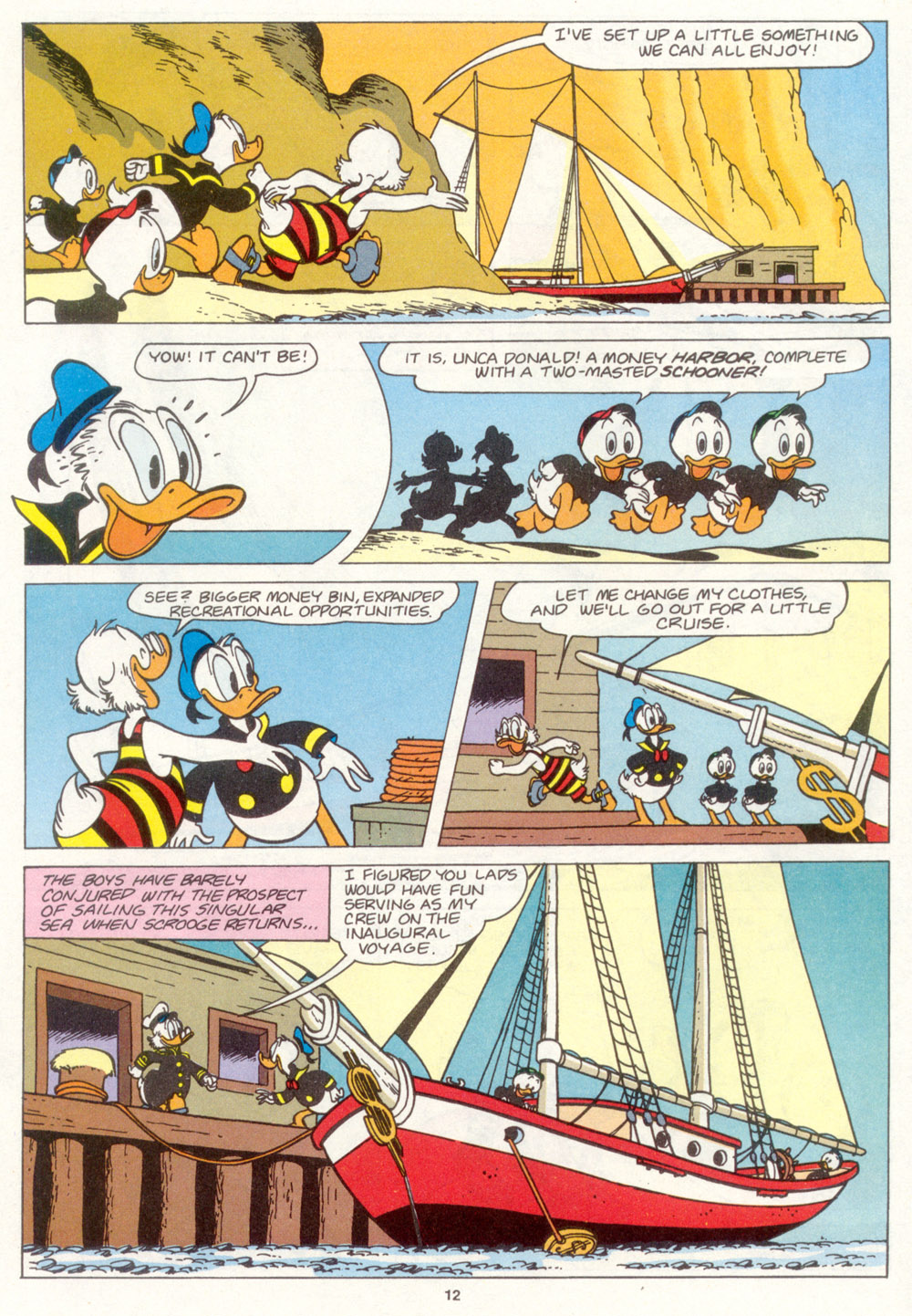 Uncle Scrooge (1953) Issue #266 #266 - English 14
