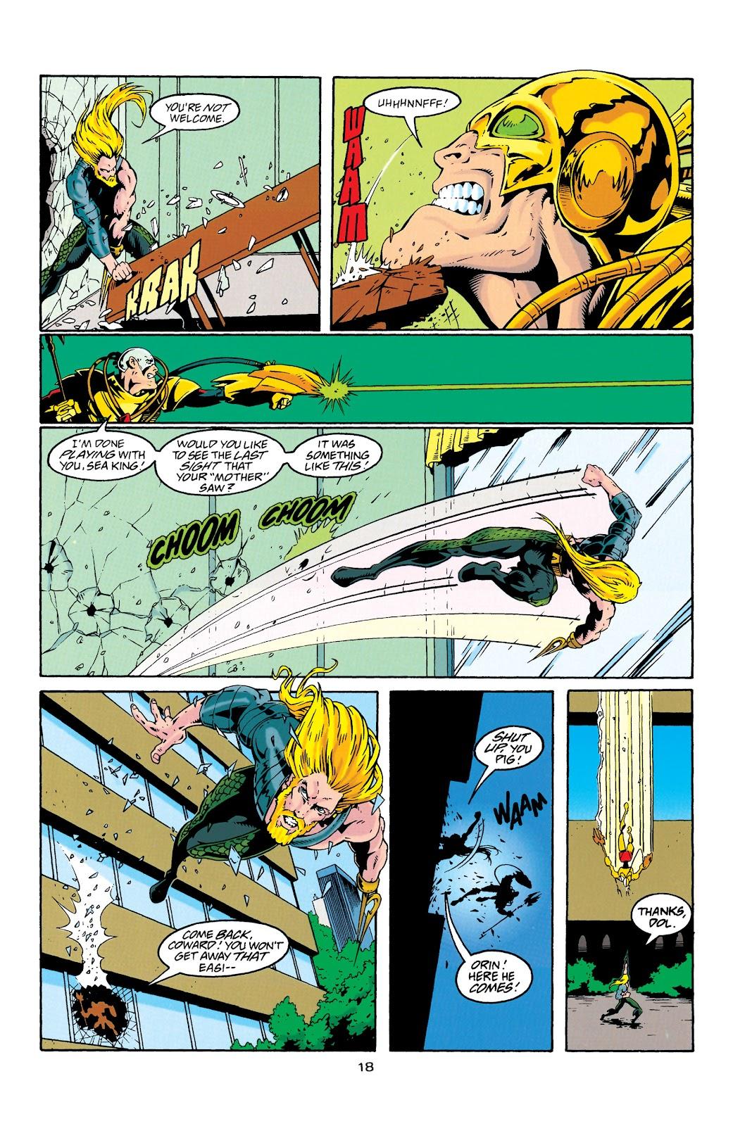 Aquaman (1994) Issue #27 #33 - English 19