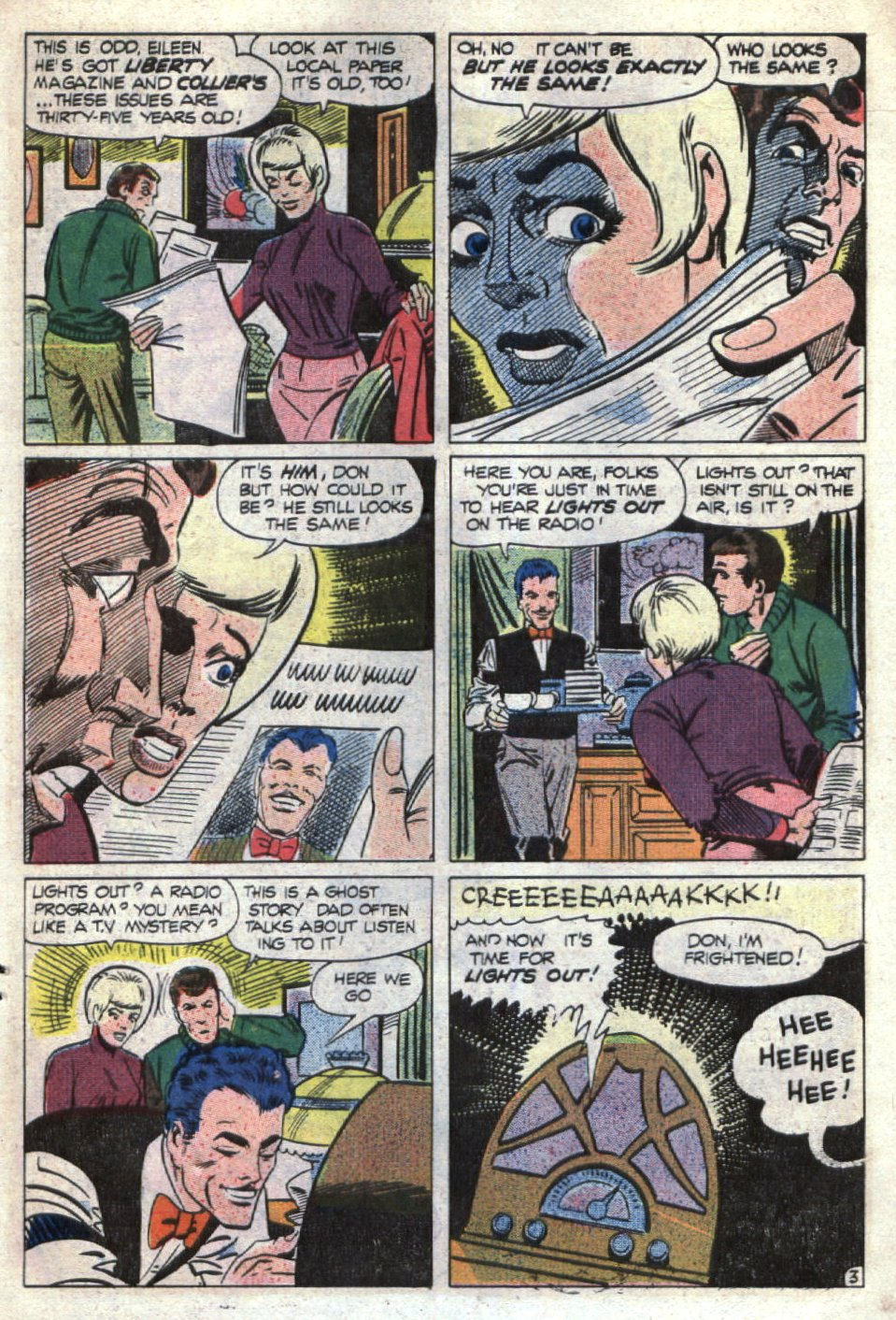 Read online Scary Tales comic -  Issue #14 - 15