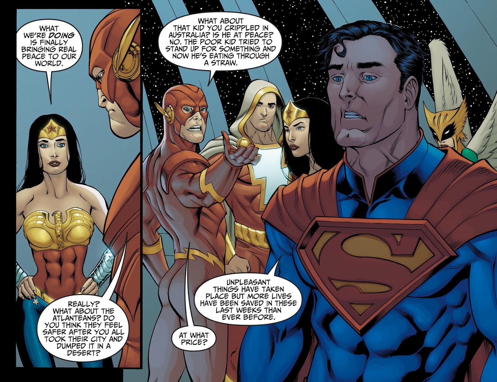 Injustice: Gods Among Us [I] Issue #22 #23 - English 4