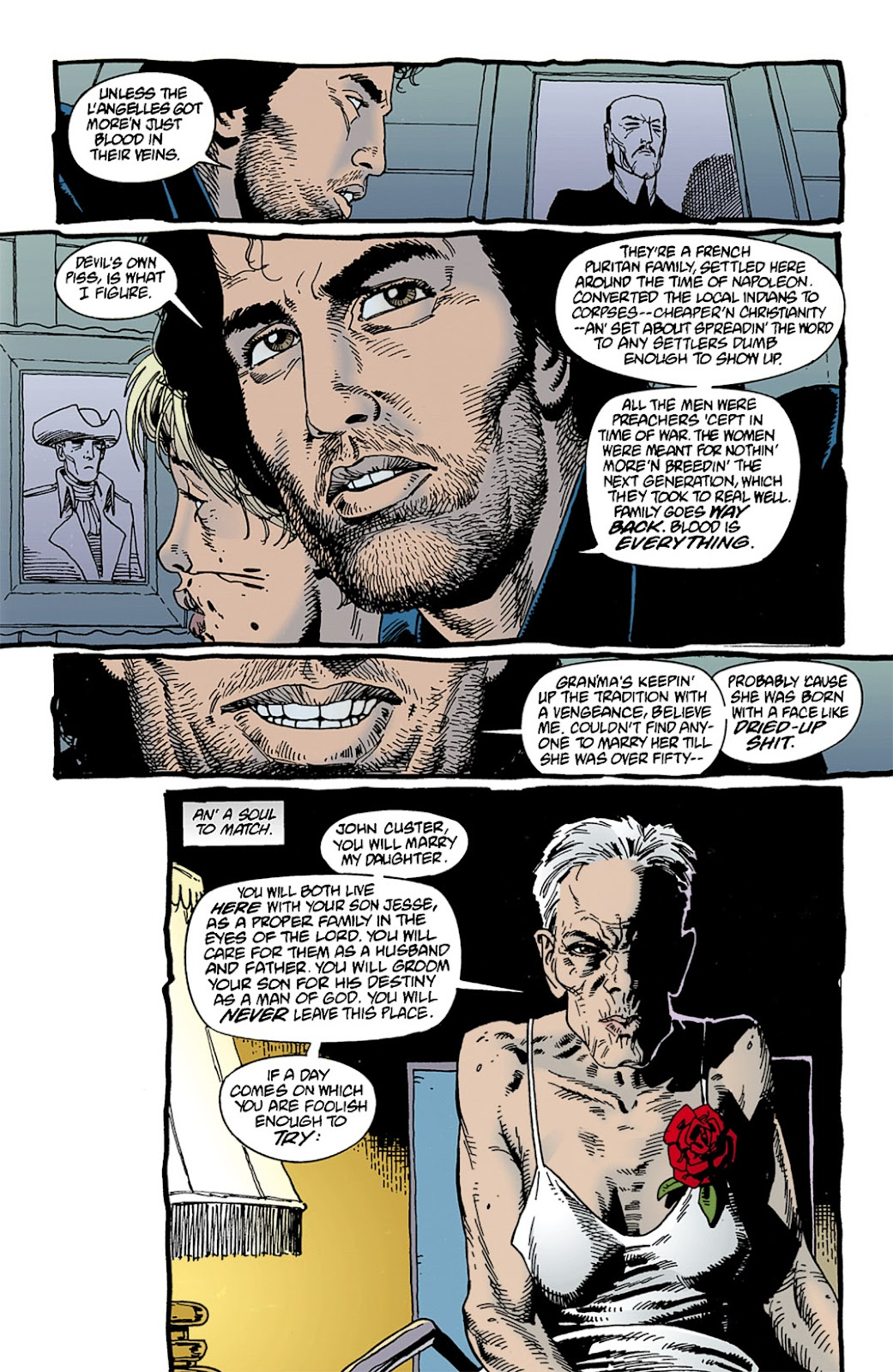 Preacher Issue #9 #18 - English 13
