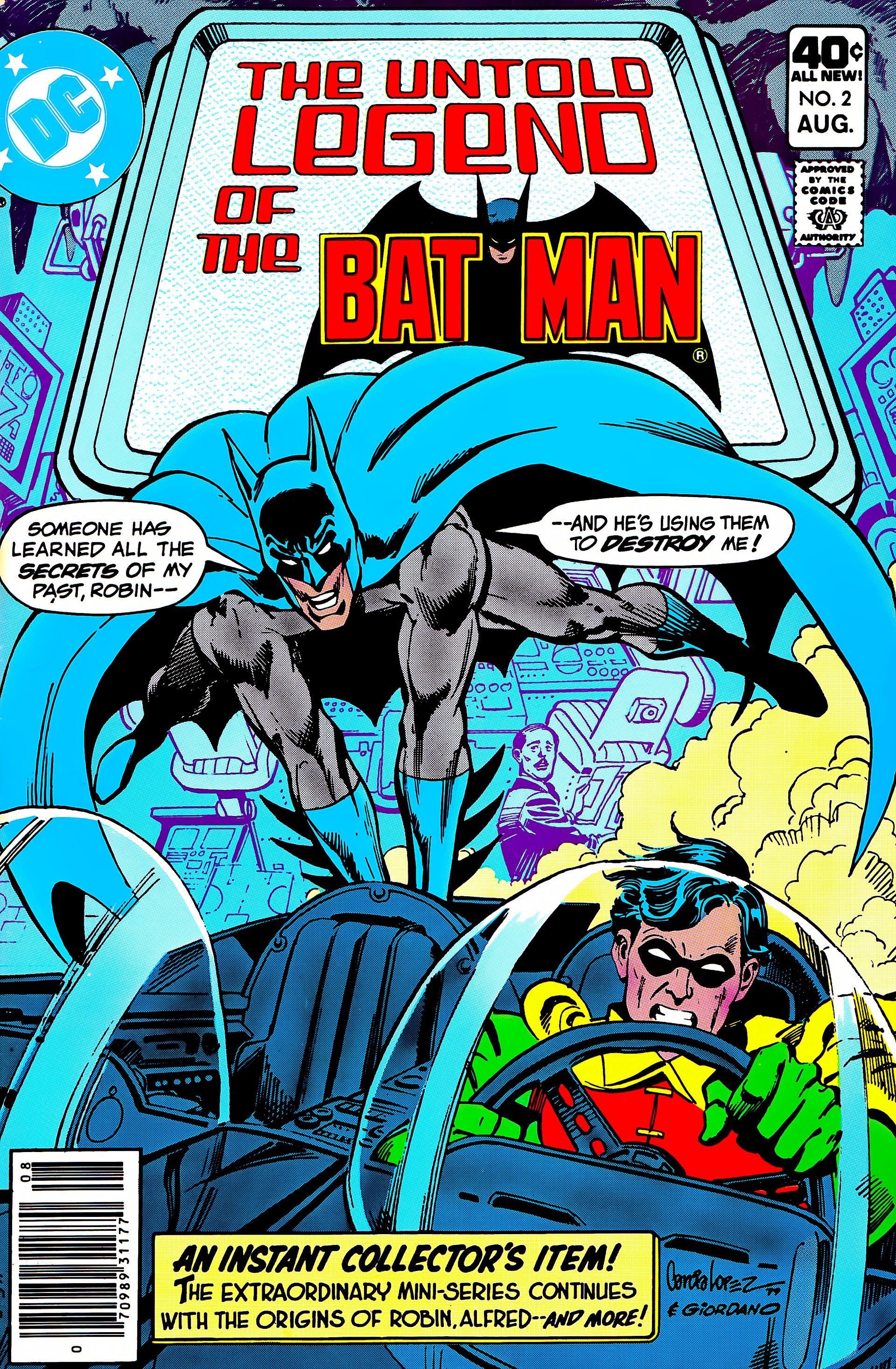 Untold Legend of the Batman 2 Page 1