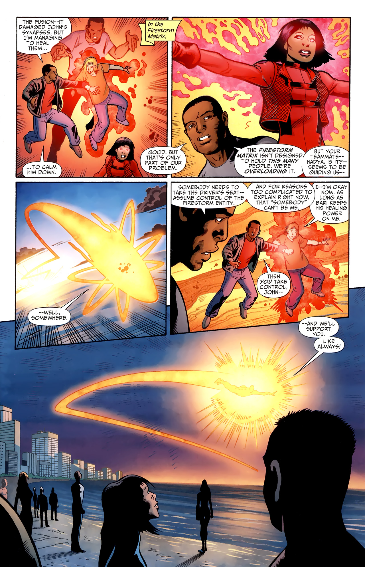 Read online Justice League of America/The 99 comic -  Issue #4 - 10