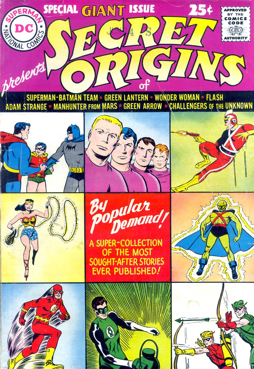Read online Secret Origins (1961) comic -  Issue # Full - 1
