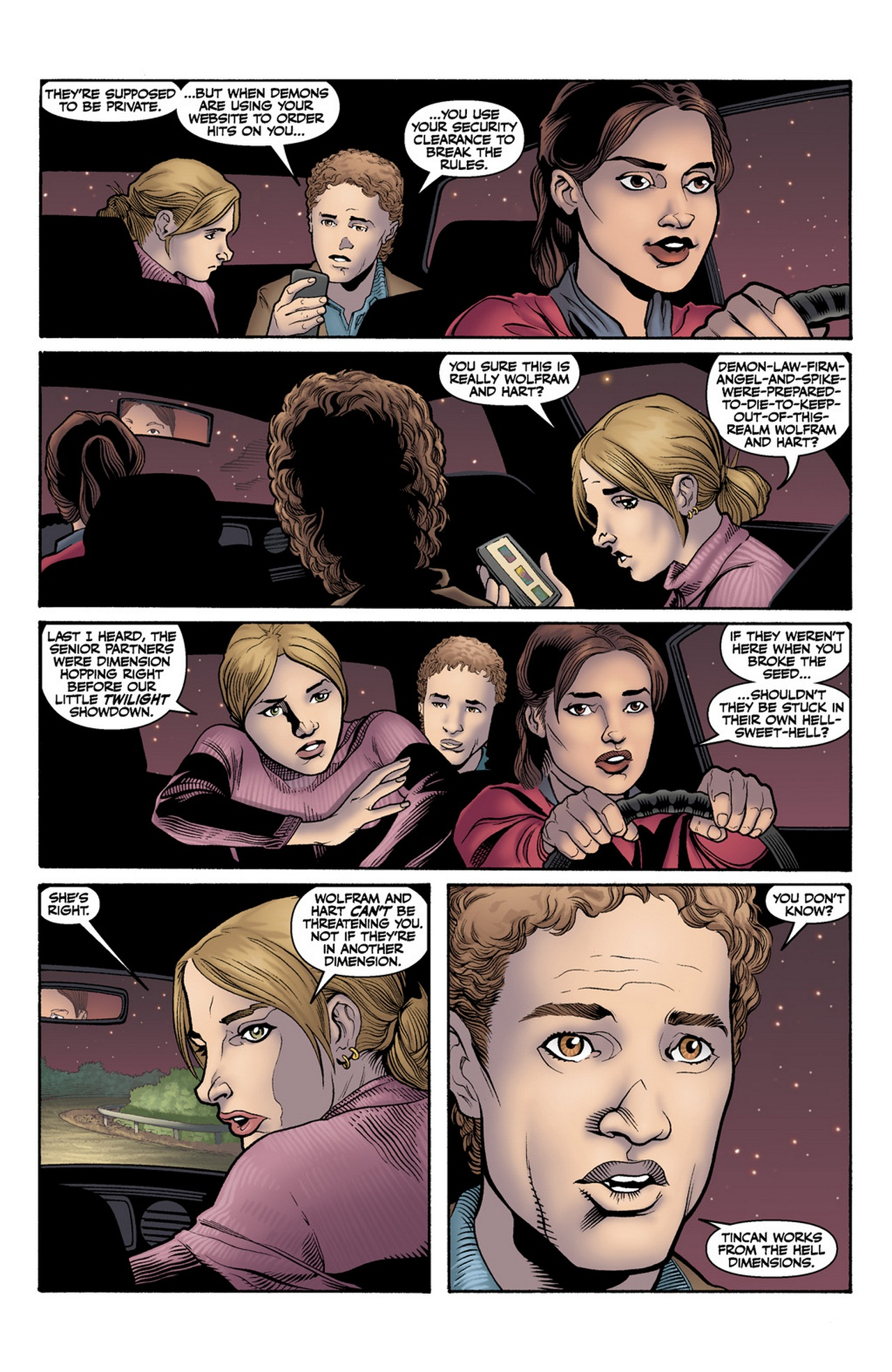 Read online Buffy the Vampire Slayer Season Nine comic -  Issue #12 - 5