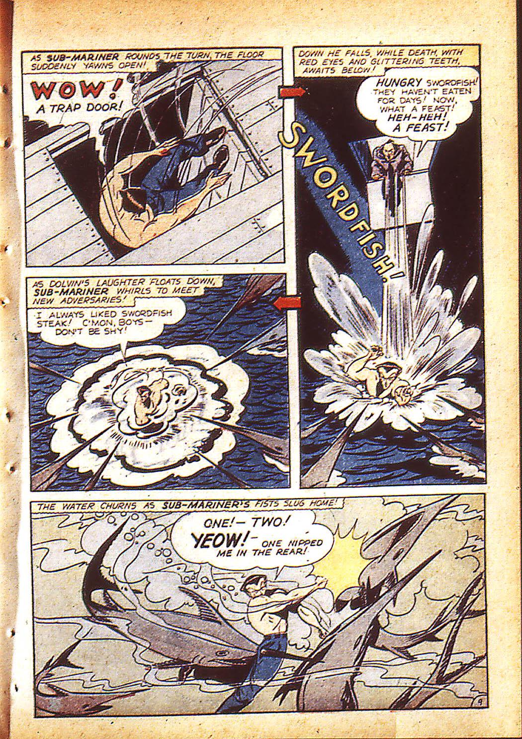 Sub-Mariner Comics Issue #10 #10 - English 12