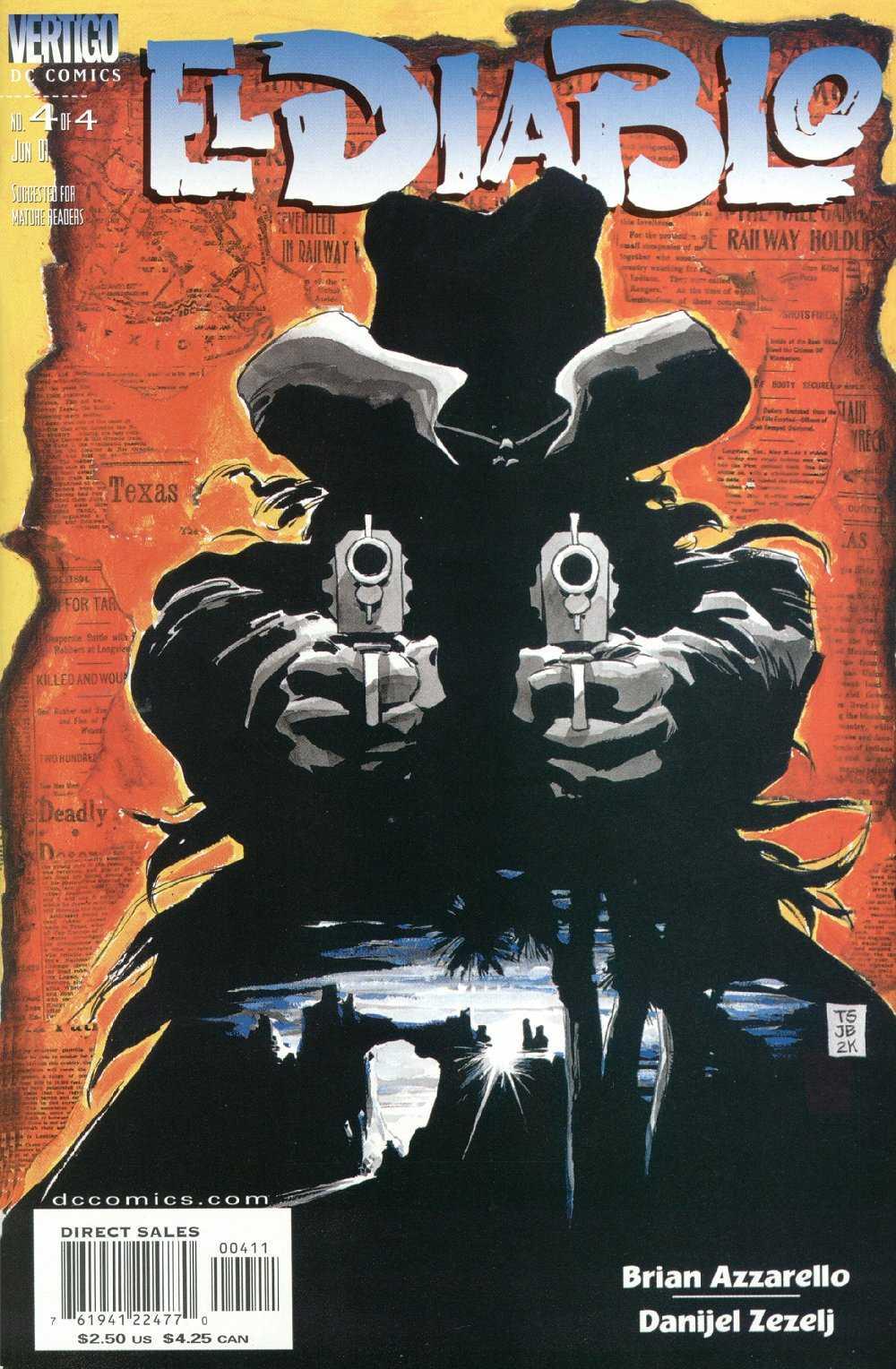 El Diablo (2001) issue 4 - Page 1