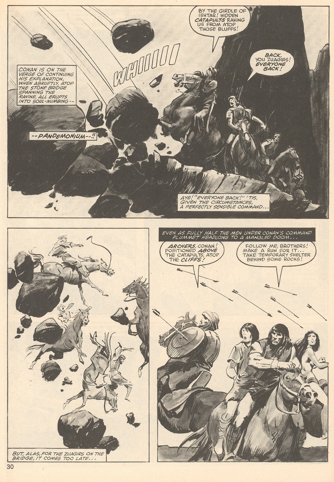 The Savage Sword Of Conan Issue #76 #77 - English 30