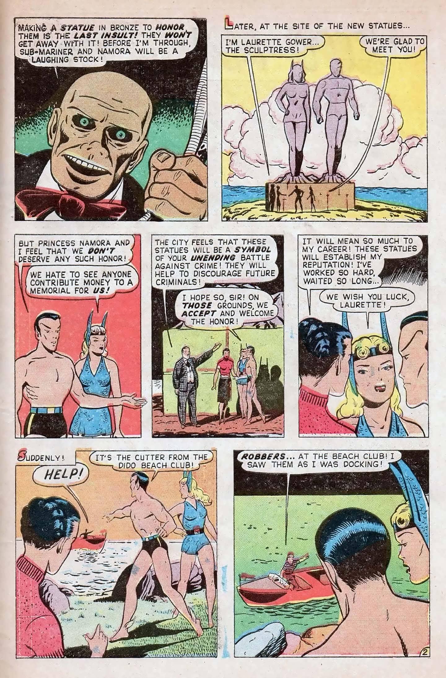 Sub-Mariner Comics #27 #27 - English 27