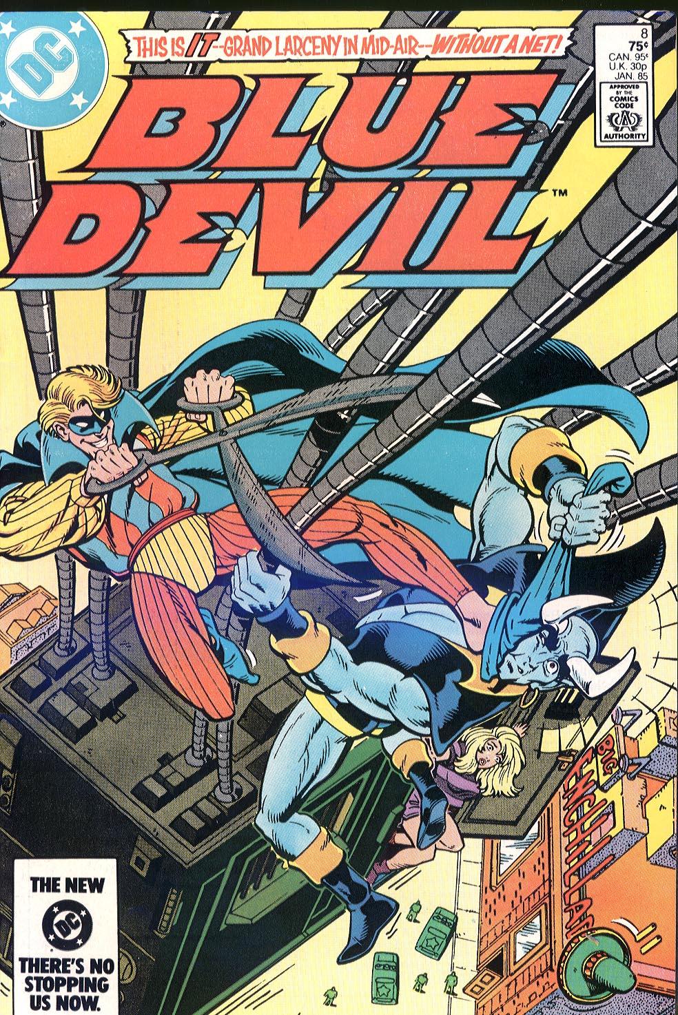 Blue Devil 8 Page 1