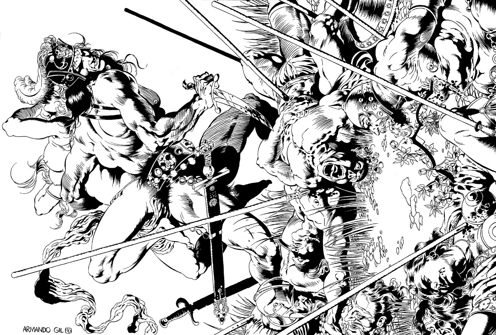 The Savage Sword Of Conan Issue #91 #92 - English 2