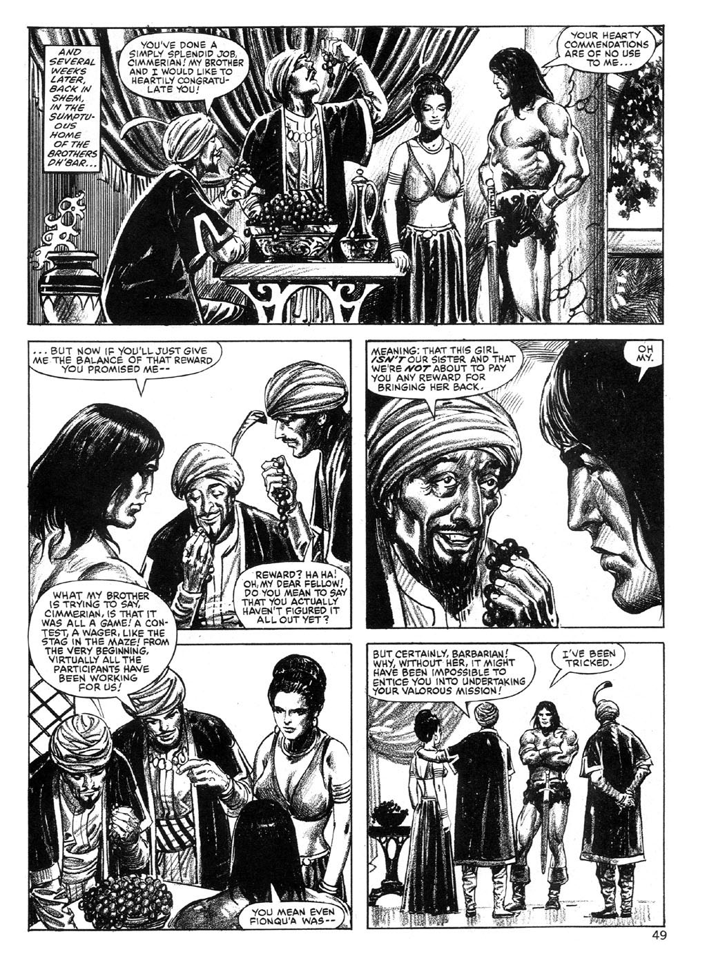 The Savage Sword Of Conan Issue #89 #90 - English 48