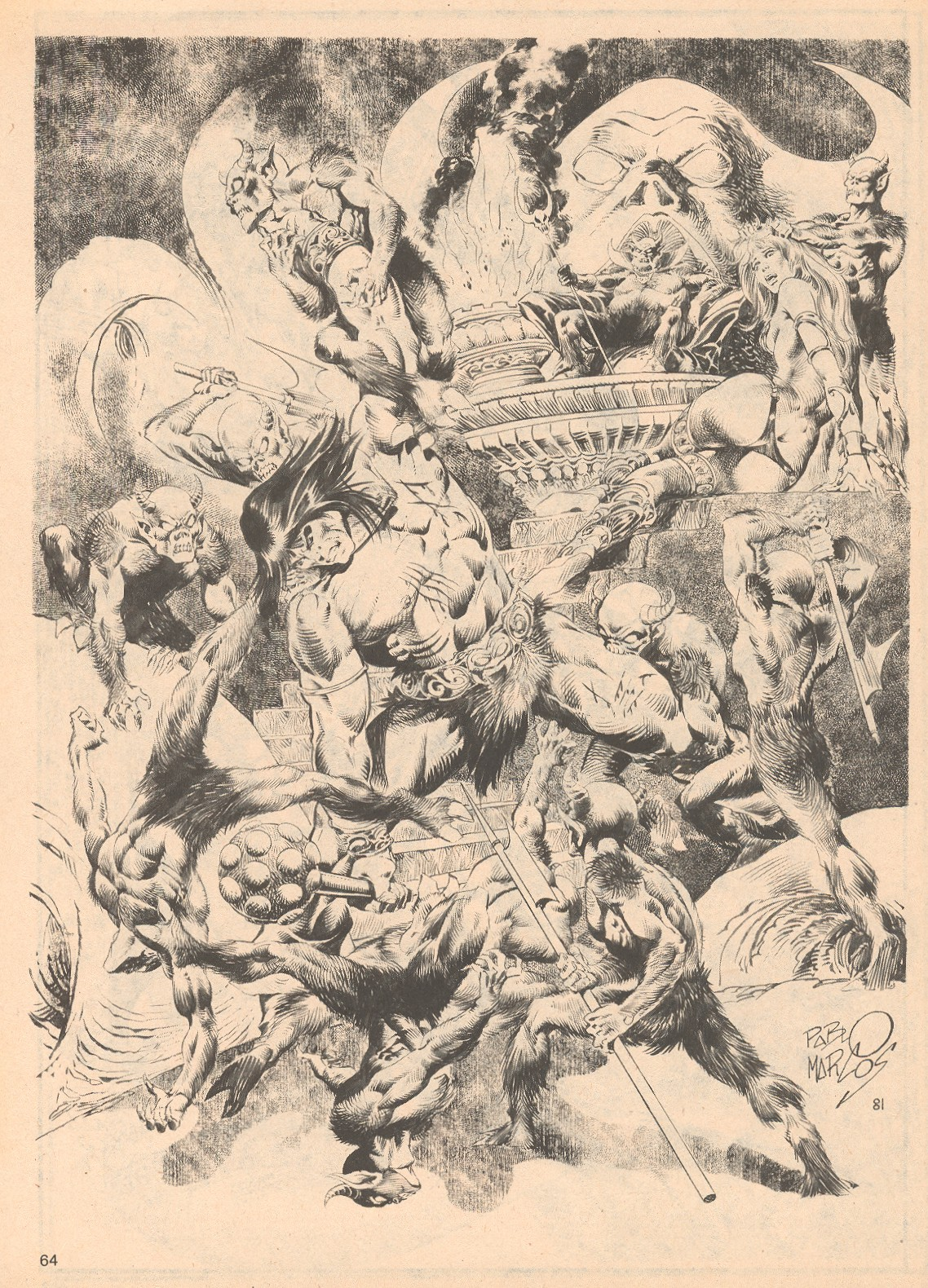 The Savage Sword Of Conan Issue #68 #69 - English 64