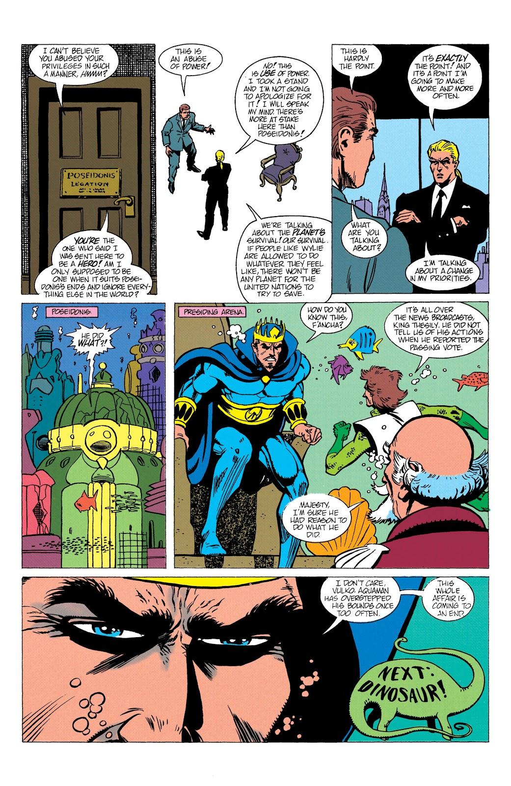 Aquaman (1991) Issue #10 #10 - English 23