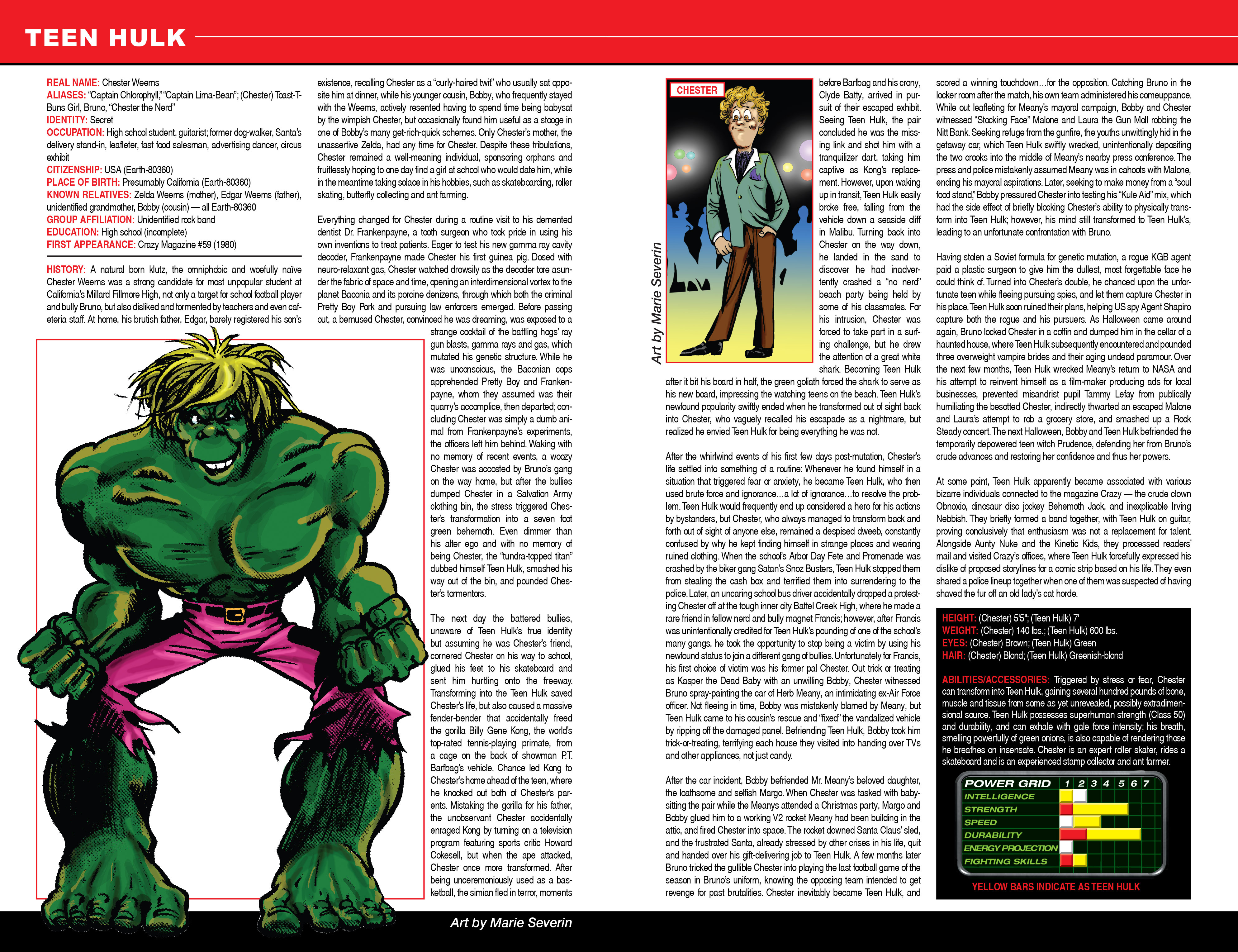 Read online Secret Wars: Official Guide to the Marvel Multiverse comic -  Issue # Full - 24