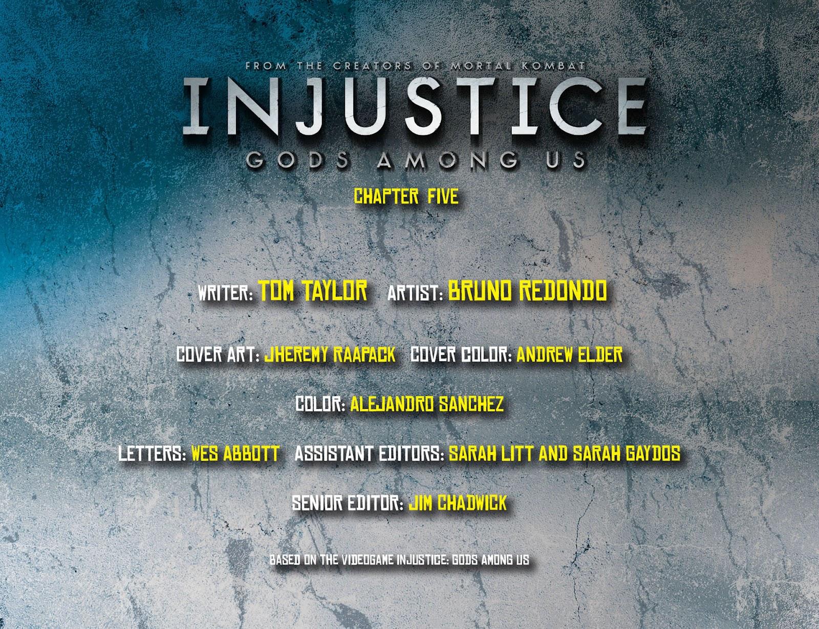 Injustice: Gods Among Us [I] Issue #5 #6 - English 2
