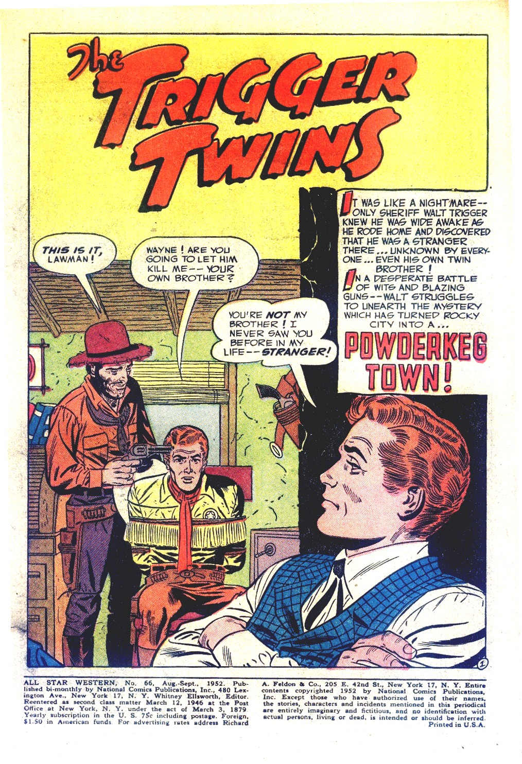 Read online All-Star Western (1951) comic -  Issue #66 - 3