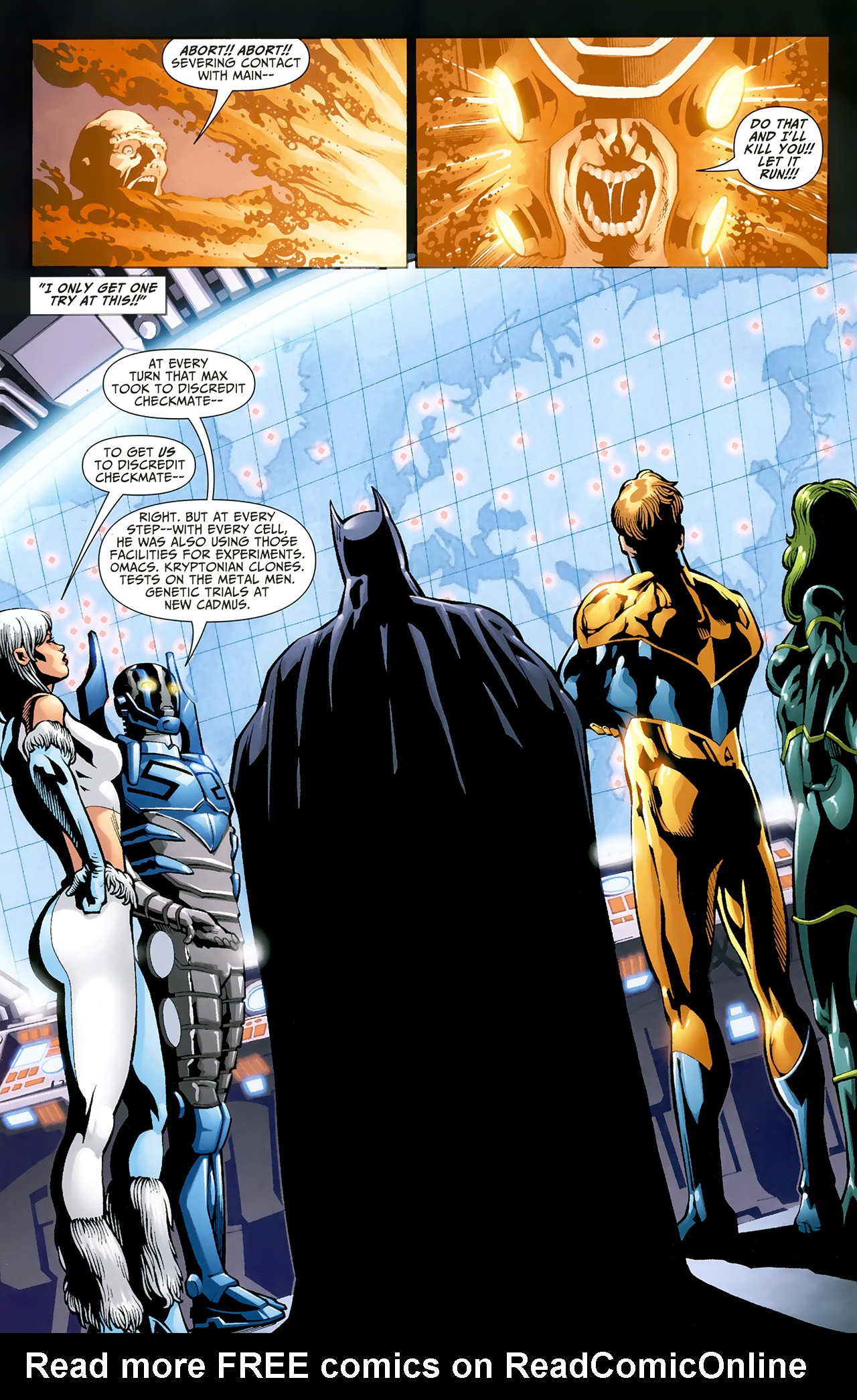 Read online Justice League: Generation Lost comic -  Issue #22 - 12