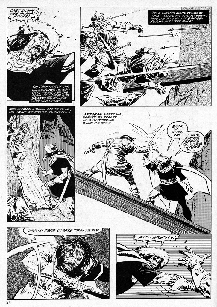 The Savage Sword Of Conan Issue #38 #39 - English 34