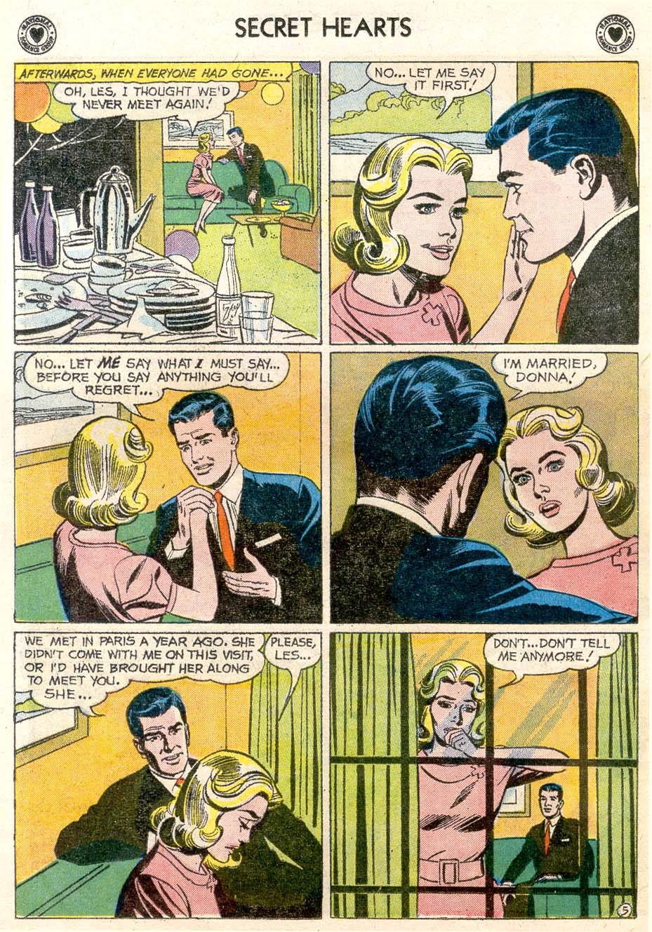 Read online Secret Hearts comic -  Issue #65 - 23